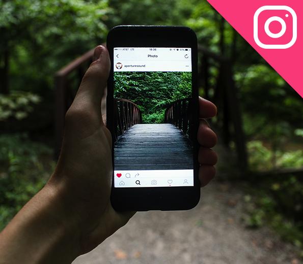Afbeelding van het sociale medium Instagram. Dit platform kan je heel goed inzetten om geld op te halen voor Strong Babies